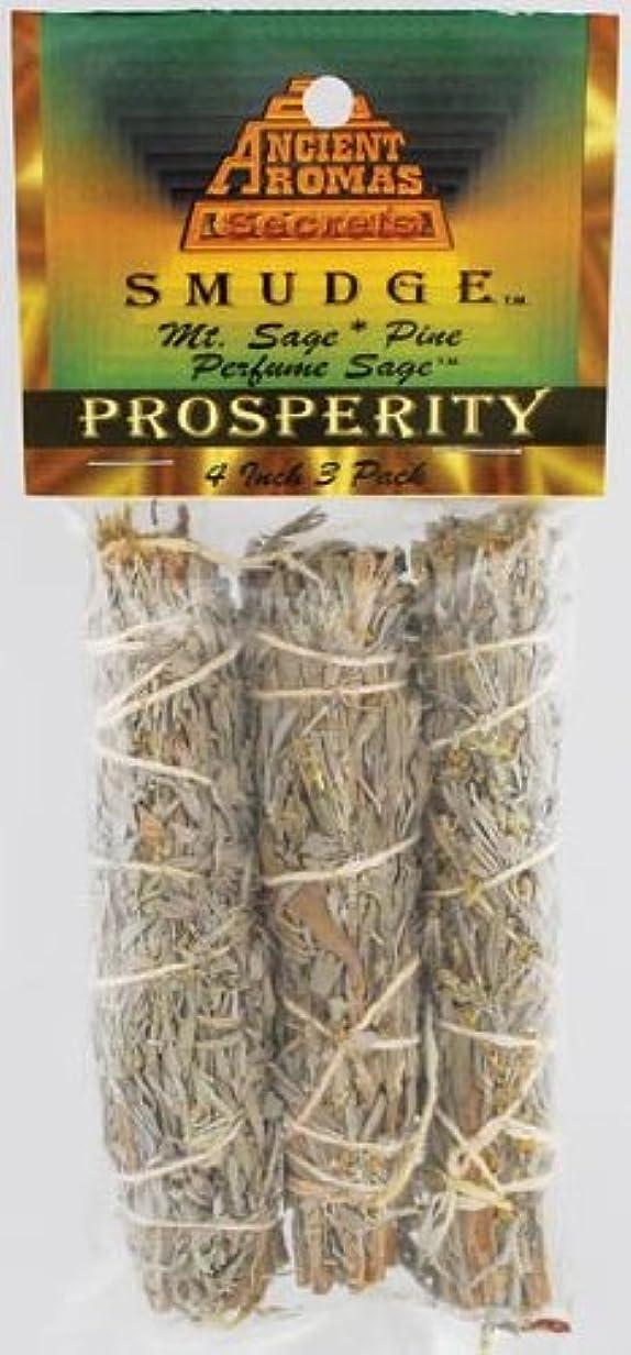 オーバーヘッドアウター主観的Prosperity Smudge Stick 3 - Pack