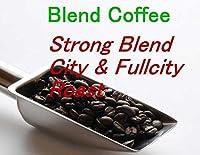 アビライト ブレンドコーヒー (焙煎士:元井健) ストロングブレンド シティ&フルシティロースト 200g 挽き方(ミル具合):パーコレータ用