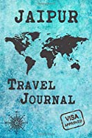 Jaipur Travel Journal: Notebook 120 Pages 6x9 Inches - City Trip Vacation Planner Travel Diary Farewell Gift Holiday Planner