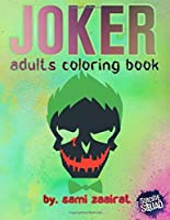Joker: adults coloring book