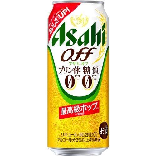 アサヒ アサヒオフ【プリン体0・糖質0】500ml缶1ケース(24本入)