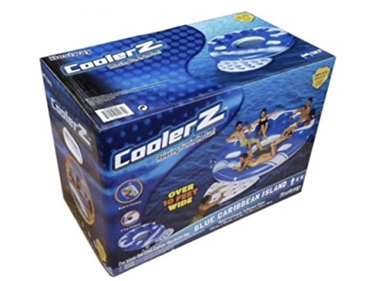 BESTWAY COOLERZ ブルーカリビアン フローティング アイランド 3.3MX3.3M