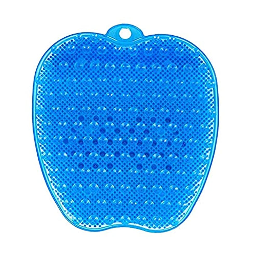 メンテナンスまもなく粘土LITI 足洗いマット 足洗いブラシ 滑らない吸盤付き フットケア フットブラシ 角質ケアブラシ お風呂で使える