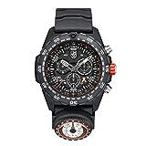 [ルミノックス] 腕時計 ベアグリルス サバイバル マスター クロノグラフ 太陽コンパス搭載 SOSコード表記 Carbonox+ 軽量 発光 防水 Luminox 3741 メンズ 正規輸入品 ブラック
