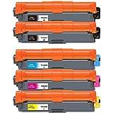 横トナ ブラザー用 TN-291/296 互換トナー ブラック 2本 大容量シアン マゼンタ イエロー 各1本 対応機種:HL-3170CDW MFC-9340CDW HL-3140CW DCP-9020CDW