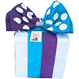 Blue & Purple Gender Reveal Gift Box Pull Strings Pinata