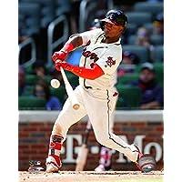 "Ozzie Albies Atlanta Braves MLBアクション写真(サイズ: 8 "" x 10 "")"