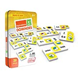 Junior Learning Equivalence Dominoes Educational Action Games