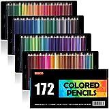 Shuttle Art 色鉛筆 カラーペン 172色セット 大人の塗り絵 スケッチ イラスト 落書き 手帳 ノード子供用…