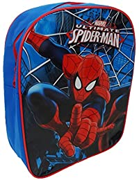 Spiderman Children's Backpack, 31 Cm, 6 Liters, Blue Spid001190