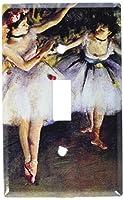 Degas : 2つのダンサースイッチプレート Single Toggle 17-S-plate 1