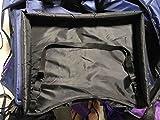 お子様 車内 チャイルドシート用 トレイテーブル 防水 お遊び台 お絵かき台 食事台 渋滞 長時間ドライブのお供 サイドメッシュポケット (黒)