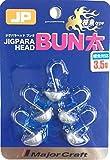 メジャークラフト ジグパラ  ヘッド ブンタ 根魚タイプ 3.5g