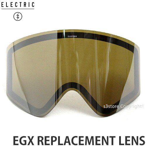ELECTRIC(エレクトリック) EGX REPLACEMENT LENS スペアレンズ BRONZE/SILVER CHROME