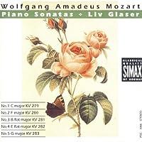 Piano Sonatas No. 1-5