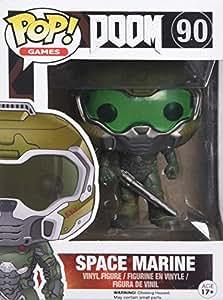 "Funko Pop Games Doom Space Marine 3.75"" Vinyl Action Figure Collectible Toy 7939"