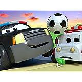 FIFA特別編 - サムの雪かき機がとれちゃった/スペシャルドーナッツデイ - 危険なドーナッツ/スチームローラーのスティーブがゴールポストに衝突!