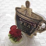 紅茶とプリザーブドフラワー 母の日ギフト