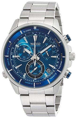 [ワイアード]WIRED 腕時計 WIRED THE BLUE 「WATER BLUE」 CHRONOGRAPH MODEL AGAW442 メンズ