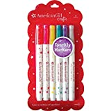 American Girl Crafts Sparkly Markers [並行輸入品]