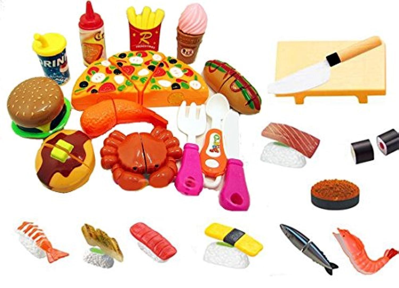 ままごとあそび 3歳からの ままごと 遊びに 寿司とピザでホームパーティ