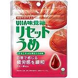 UHA味覚糖 機能性表示食品 リセットうめグミ 40g ×10袋