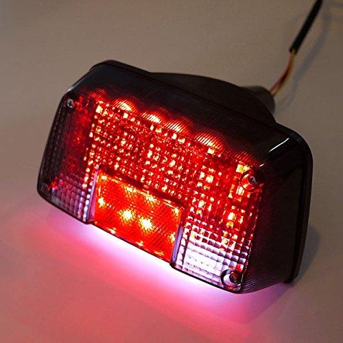 GSX400用LEDテールランプ スモークレンズ