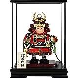 子供大将 五月人形 ケース 清雲斉作 鎧着大将 5-58036-49957