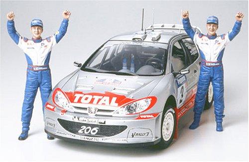 1/24 スポーツカーシリーズ プジョ-206 WRC 02 ウィナー仕様