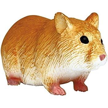 プラッツ My Little Zoo ゴールデンハムスター 全長約75mm 彩色済み動物フィギュア MJP387236