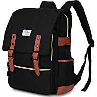 Modoker Vintage Laptop Backpack for Women Men,School College Backpack with USB Charging Port Fashion Backpack Fits 15 inch Notebook