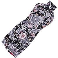 Dovewill 1/6スケール  BJD SDドルフィー人形適用 素敵 花柄 チャイナドレス 服装