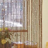 竹のれん 幅90cmx高さ 約150㎝(実質152~153cm) ナチュラル 天然竹使用