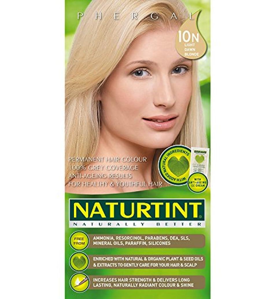 構成するポーチ理論的Naturtint Hair Color 10N Light Dawn Blonde Count (並行輸入品)