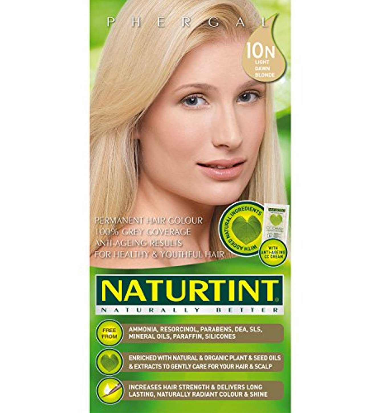 整理する上院議員構築するNaturtint Hair Color 10N Light Dawn Blonde Count (並行輸入品)