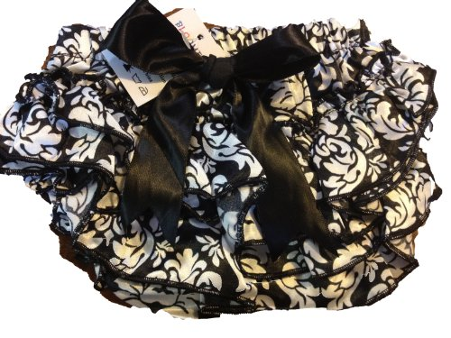 MANDY ベビー ブルマ Bottom Covers Black Damasuk