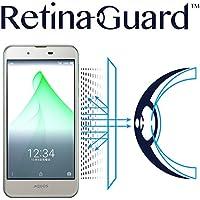 RetinaGuard AQUOS U SHV37 au ブルーライト90%カット液晶保護フィルム