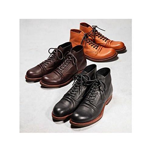 (ミスターオリーブ) Mr.Olive WATER PROOF SHIRINK LEATHER SEVEN HOLE HUNTING BOOTS eoimrolive60450 サイズ26.5 色BEIGE