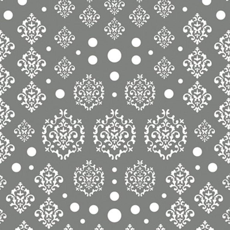 賞系譜団結するツメキラ(TSUMEKIRA) ネイル用シール agehaダマスク ホワイト NN-AGE-101