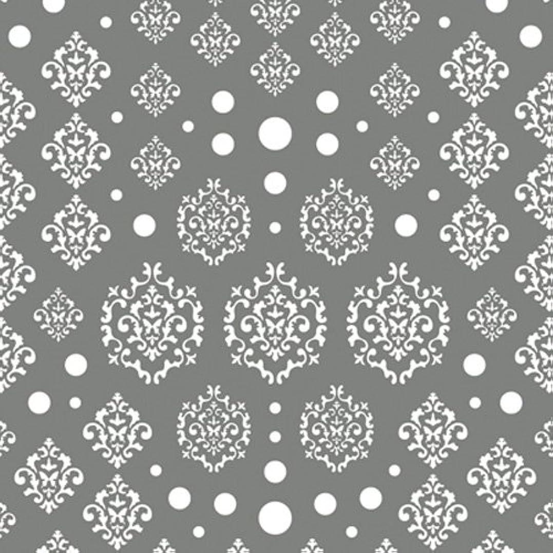 ジャズ神秘的なエンターテインメントツメキラ(TSUMEKIRA) ネイル用シール agehaダマスク ホワイト NN-AGE-101