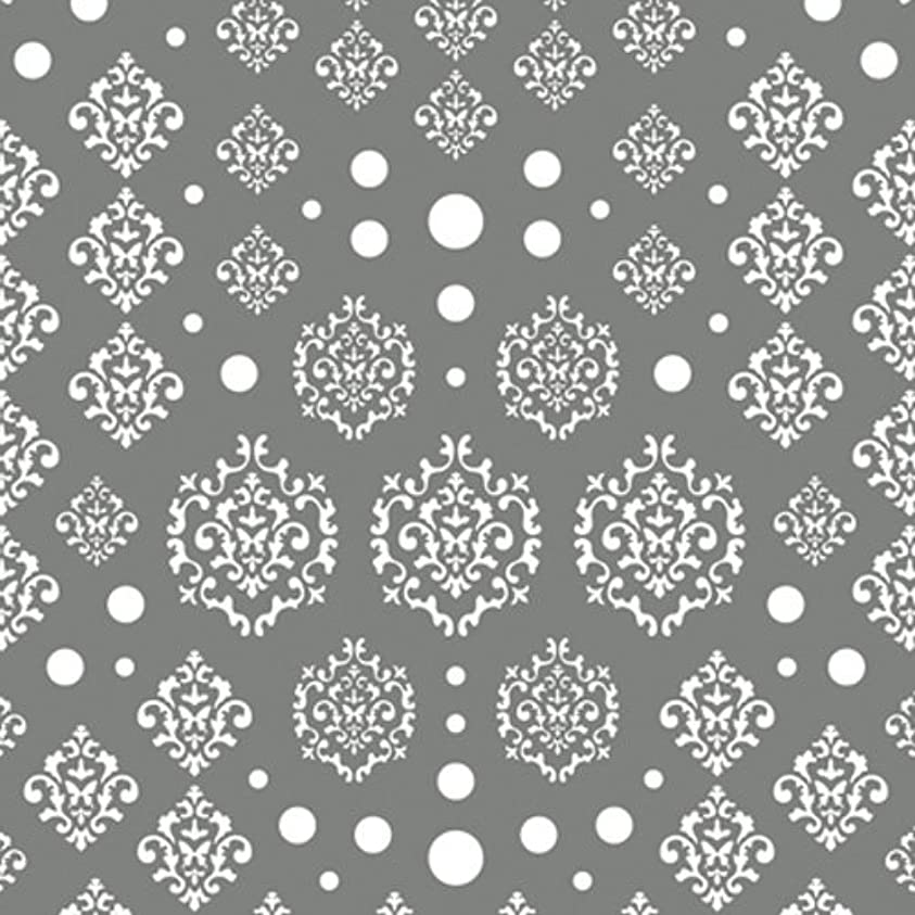 ロースト心配するスカリーツメキラ(TSUMEKIRA) ネイル用シール agehaダマスク ホワイト NN-AGE-101