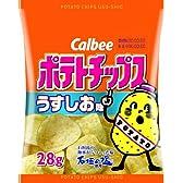 カルビー ポテトチップスうすしお味 28g×12袋