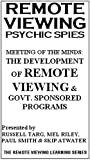 Rv Psychic Spies: Meeting of the Minds - Develop [VHS] [Import]