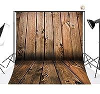 LB 10x 10ft木製床ポリ生地のカスタマイズされた写真バックドロップ背景Studioプロップqd06