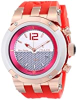 マルコ MULCO Unisex MW5-1621-061 Analog Display Swiss Quartz Red Watch 男性 メンズ 腕時計 【並行輸入品】