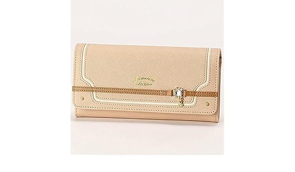 43bf8a70190d Amazon | リズリサ(バッグ&ウォレット)(LIZ LISA Bag&Wallet) カカオ かぶせ長財布【ピンク/**】 | LIZ LISA(リズ  リサ) | レディースバッグ・財布