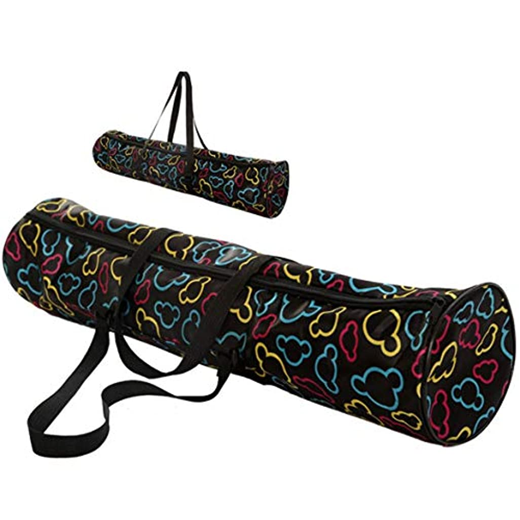 パントリーエキゾチック老朽化したIntercorey多機能防水ヨガマットキャリーバックパックアウトドアスポーツバッグポーチファッションヨガバッグ