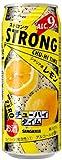日本サンガリア ストロングチューハイタイム ゼロレモン ロング缶 500ml×24本