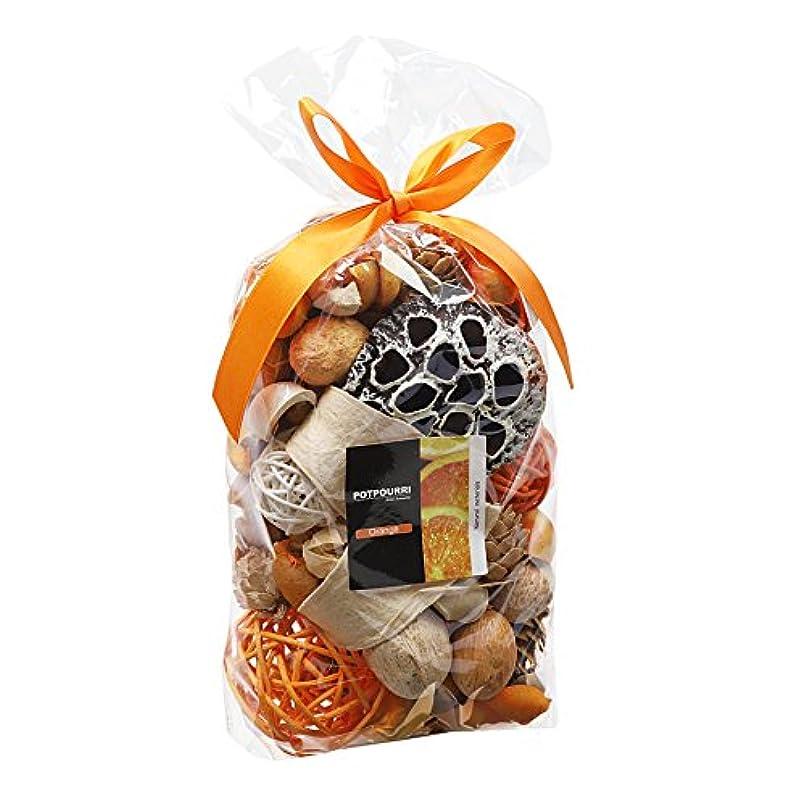複製する座標呼びかけるQingbei Rina ポプリ オレンジ色 300g レモンのポプリ ギフト 手作りの自然素材