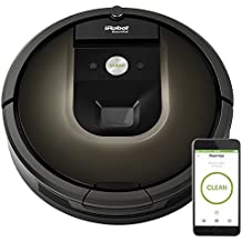 iRobot Roomba 980 Robotic Vacuum Cleaner iRobot Roomba 980 Wi-Fi Connected Robotic Vacuum Cleaner Black/Brown w/ Extras